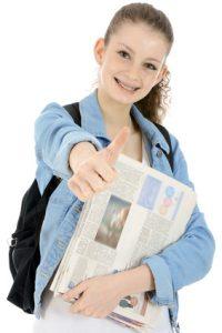 Schülerjobs Zeitungen